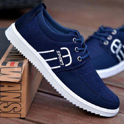 Best Tie Up Stitching Breathable Casual Shoes
