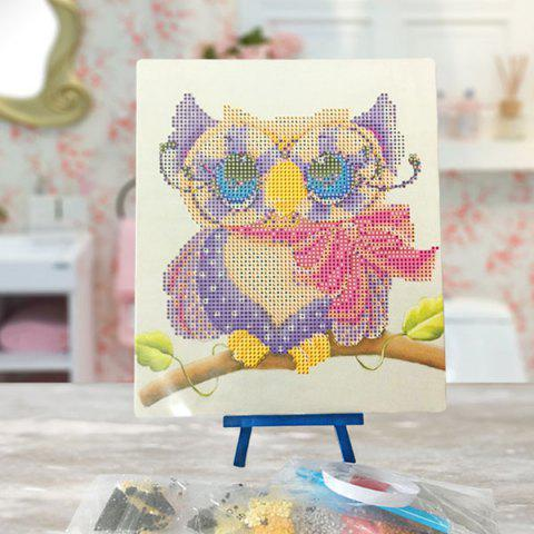 Best DIY 5D Resin Diamond Cartoon Shy Eagle Paperboard Painting - COLORMIX  Mobile