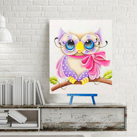 Online DIY 5D Resin Diamond Cartoon Shy Eagle Paperboard Painting - COLORMIX  Mobile