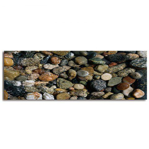 Outfit Sea Stone Pattern Slow Rebound Water Absorption Area Rug - W16 INCH * L47 INCH COLORMIX Mobile