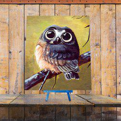 Cartoon Night Owl DIY 5D Resin Diamond Paperboard Painting
