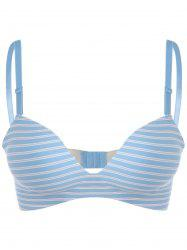 Seamless Striped Push Up Lingerie Bra