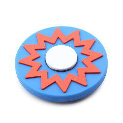 Fiddle Toy Sun Pattern Round EDC Fidget Spinner -