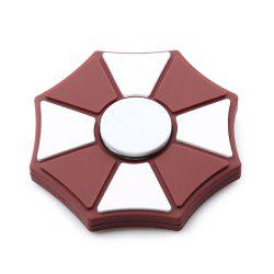 Color Block Geometric EDC Fidget Spinner Stress Relief Toy