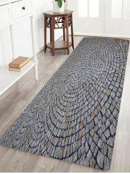 Stone Floor Pattern Water Absorption Slow Rebound Area Rug