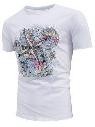 Map Print Del Sol Sun Change Color T-shirt