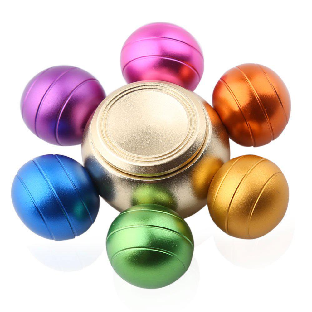 Six-ball Fidget Metal Spinner Stress Relief Toy