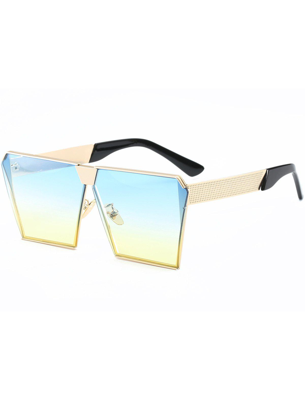 d9eb4105d0f3 28% OFF] Street Snap Retro Square Frame Sunglasses | Rosegal