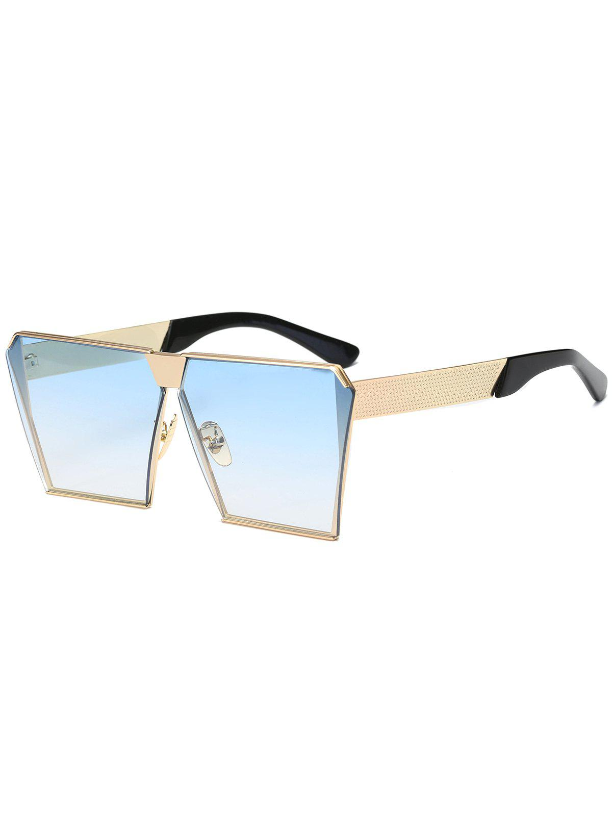 Discount Street Snap Retro Square Frame Sunglasses
