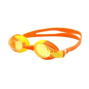 Kids UV Protection Anti Fog Waterproof Plain Mirrored Swimming Goggles