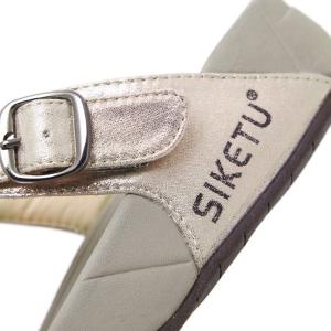 Wedge Heel Belt Buckle Slippers -