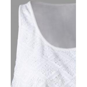 Lace Panel Asymmetrical Top -