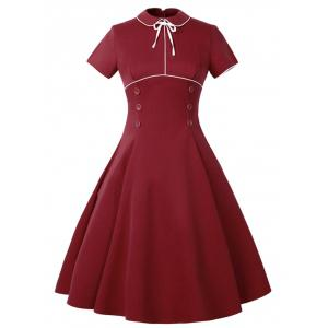 Buttoned Vintage Dress