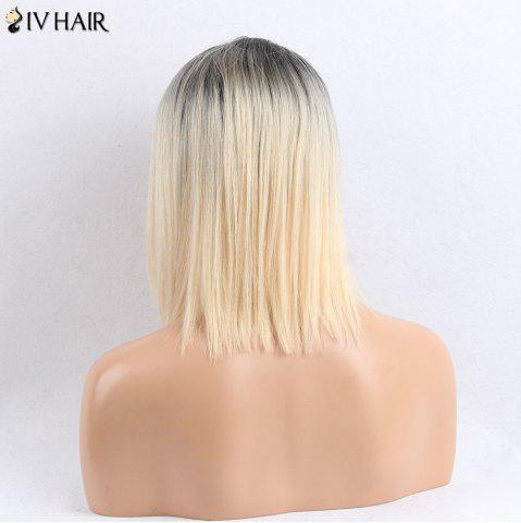 Outfits Siv Hair Side Part Medium Straight Colormix Human Hair Wig - COLORMIX  Mobile