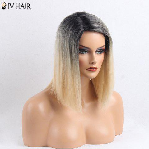 Discount Siv Hair Side Part Medium Straight Colormix Human Hair Wig - COLORMIX  Mobile