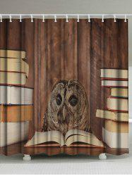 Owl Doctor Waterproof Eco-Friendly Shower Curtain