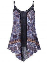 Plus Size Paisley Cami Top