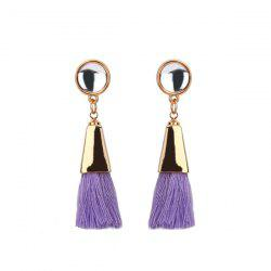 Resin Tassel Vintage Drop Earrings