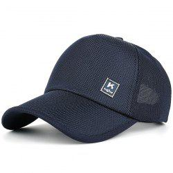 Outdoor Tiny Letter Partten Baseball Hat