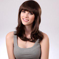 Full Bang Long Natural Straight Synthetic Wig