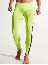 Color Block Quick Dry Jogging Workout Pants