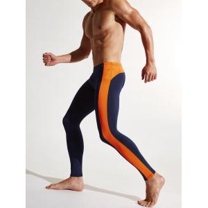Stripe Contraste Dry Dry Athletic Pants - Royal 2XL