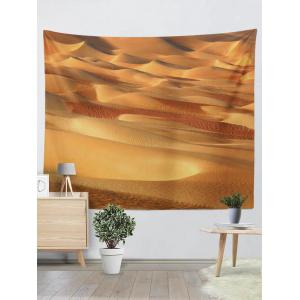 Home Decor Wall Hanging 3D Desert Print Tapestry - Earthy - W59 Inch * L79 Inch