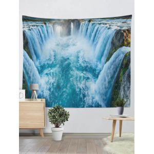 Wall Hangings Brushed Fabric Waterfall Print Tapestry