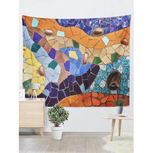 Wall Hangings Art Decor Geometric Stone Print Tapestry
