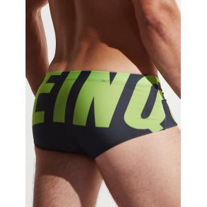 Graphic Boxer Boxer Surfing Trunks - Noir XL