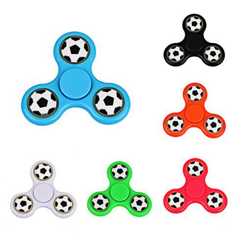 Hot Football Glow in the dark Focus Toy Fidget Spinner - RED  Mobile