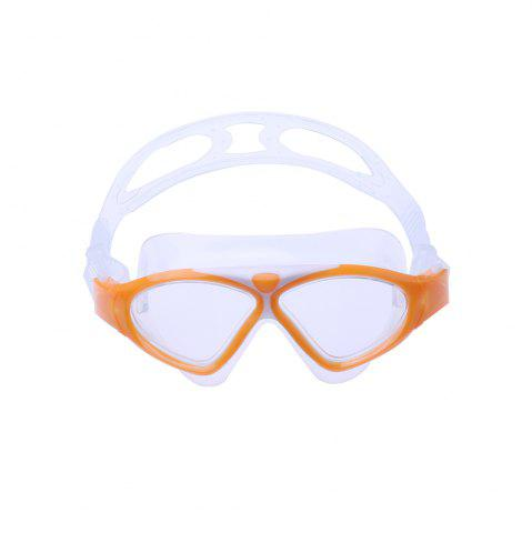 Sale Underwater Adjustable Swimming Goggles for Adult - ORANGE  Mobile