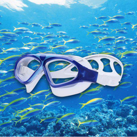 Fashion Underwater Adjustable Swimming Goggles for Adult DEEP BLUE