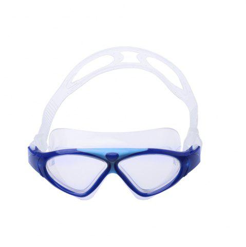 Cheap Underwater Adjustable Swimming Goggles for Adult - DEEP BLUE  Mobile
