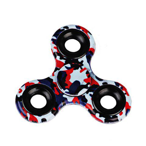 Outfits Printed Hand Stress Relief Toys Fidget Spinner BLACK