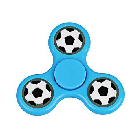 Store Football Glow in the dark Focus Toy Fidget Spinner - BLUE  Mobile