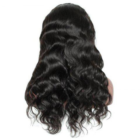 Buy Free Part Long Loose Wave Lace Front Synthetic Wig - BLACK  Mobile