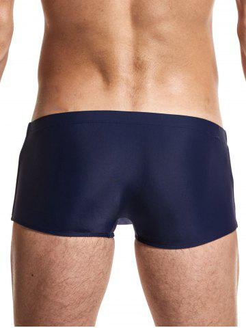Trendy Stripe Low Rise Boxers Surfing Swimming Trunks - 2XL ROYAL Mobile