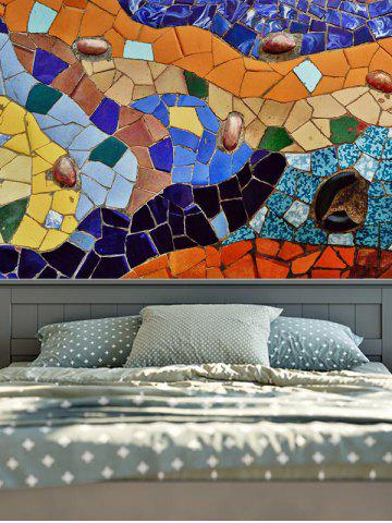 New Wall Hangings Art Decor Geometric Stone Print Tapestry - W59 INCH * L79 INCH COLORFUL Mobile