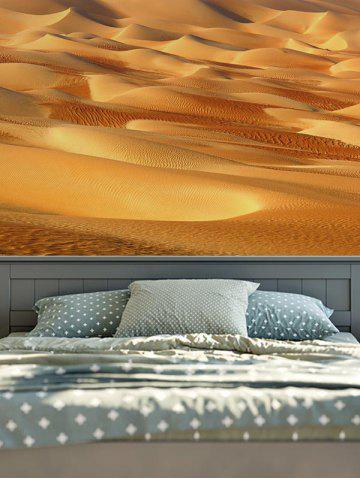 Latest Home Decor Wall Hanging 3D Desert Print Tapestry - W59 INCH * L59 INCH EARTHY Mobile