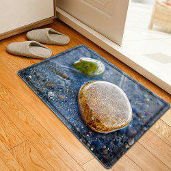 Stone In The Water Pattern Water Absorbing Bathroom Mat