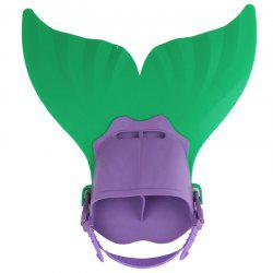 Adjustable Mermaid Swimming Fins for Adult