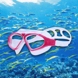 Underwater Adjustable Swimming Goggles for Adult - CERISE