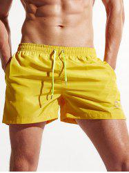 Drawstring Running Workout Board Shorts