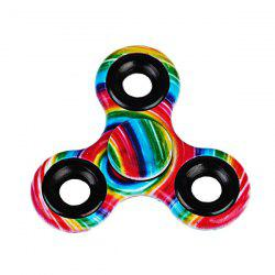 Printed Hand Stress Relief Toys Fidget Spinner -