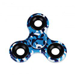 Printed Hand Stress Relief Toys Fidget Spinner - BLUE