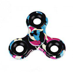 Printed Hand Stress Relief Toys Fidget Spinner - PURPLE