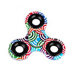 Printed Hand Stress Relief Toys Fidget Spinner