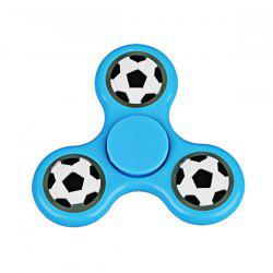 Football Glow in the dark Focus Toy Fidget Spinner - BLUE