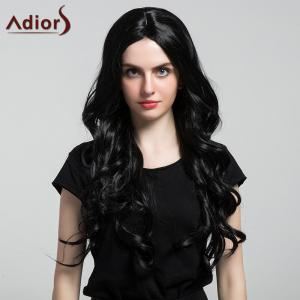 Adiors Long Thick Center Part Shaggy Wavy Synthetic Wig